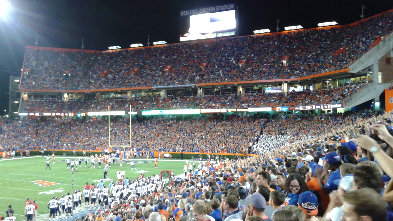 A HUGE Gator FB Win Over #3 Ole Miss (W 25-3)