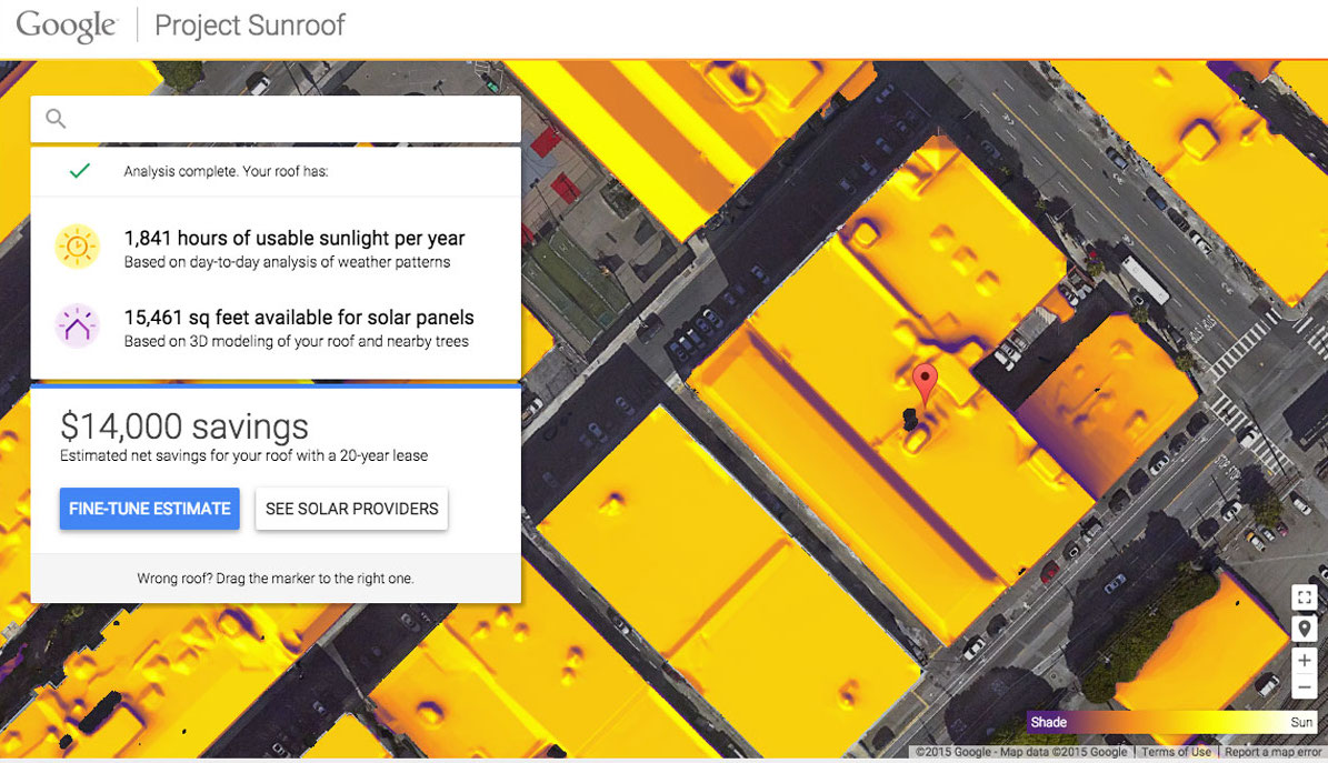 Google Project Sunroof Makes Solar Panel Research Easy