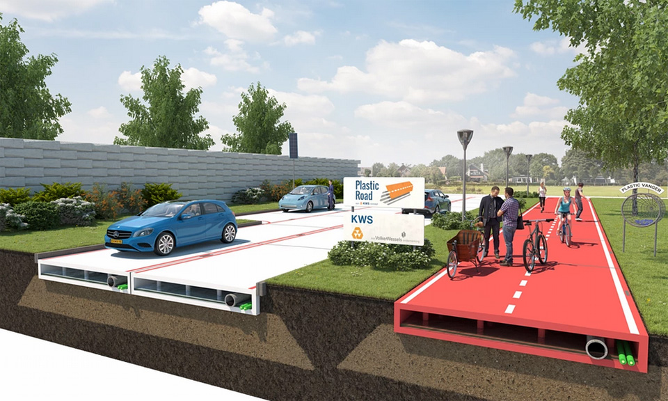 Are Plastic Roads The Next Big Thing?